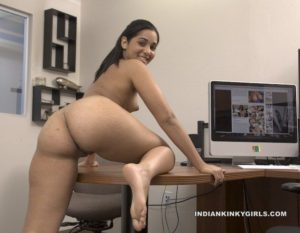 Indian secretary nude