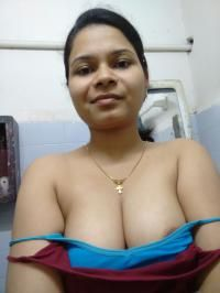 sexy topless selfies of indian wife showing big tits 007