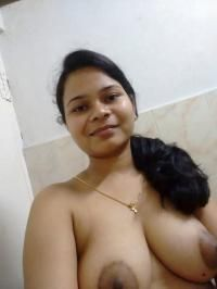 sexy topless selfies of indian wife showing big tits 009