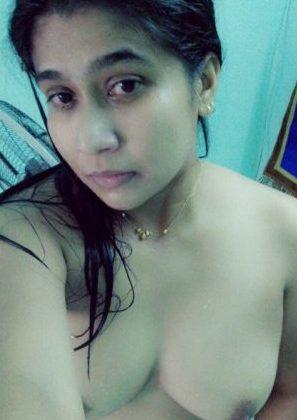 Naked farm girl outdoors