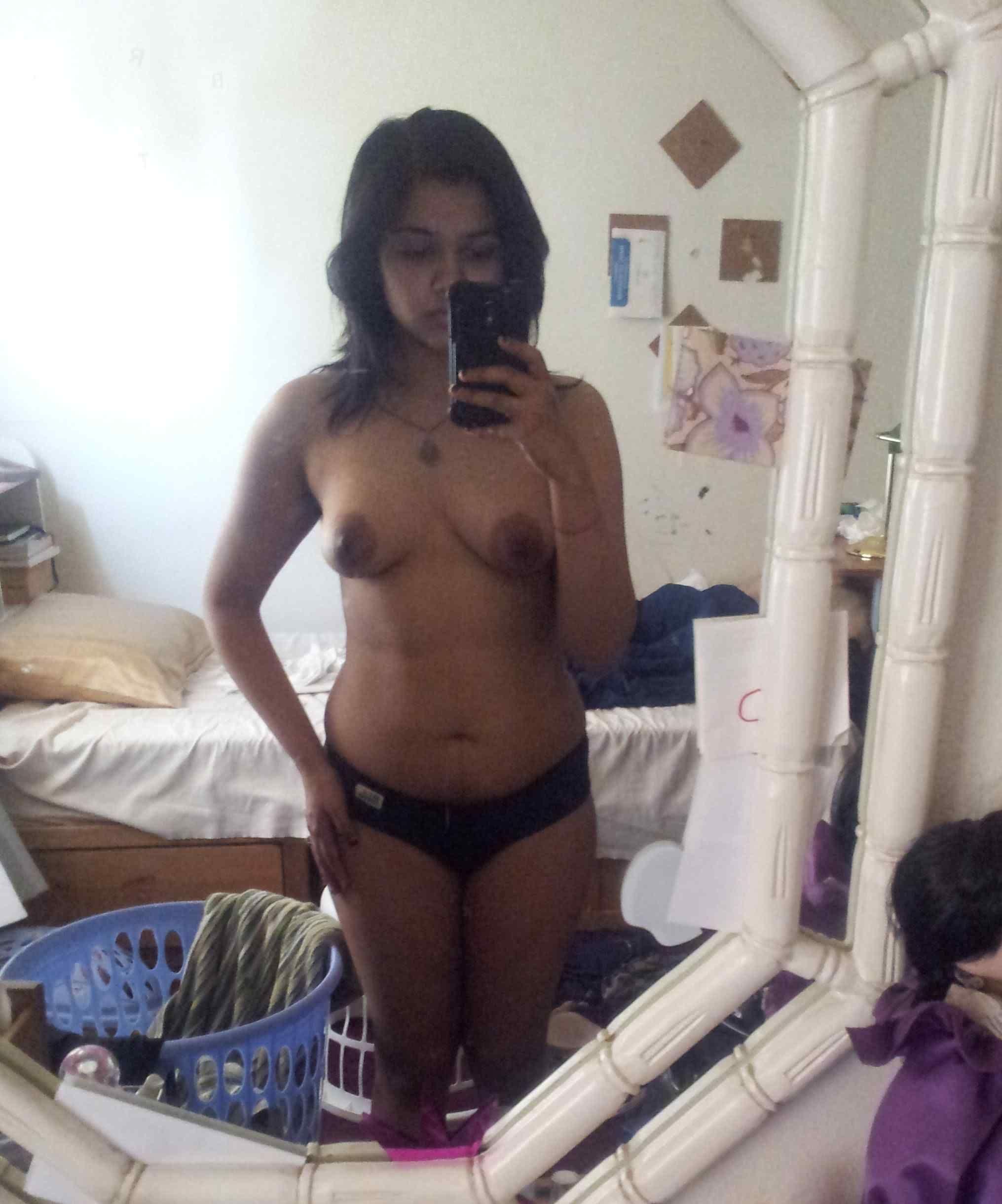 Hot Rajkot Desi Girlfriend Naked Selfies Leaked  Indian -8996