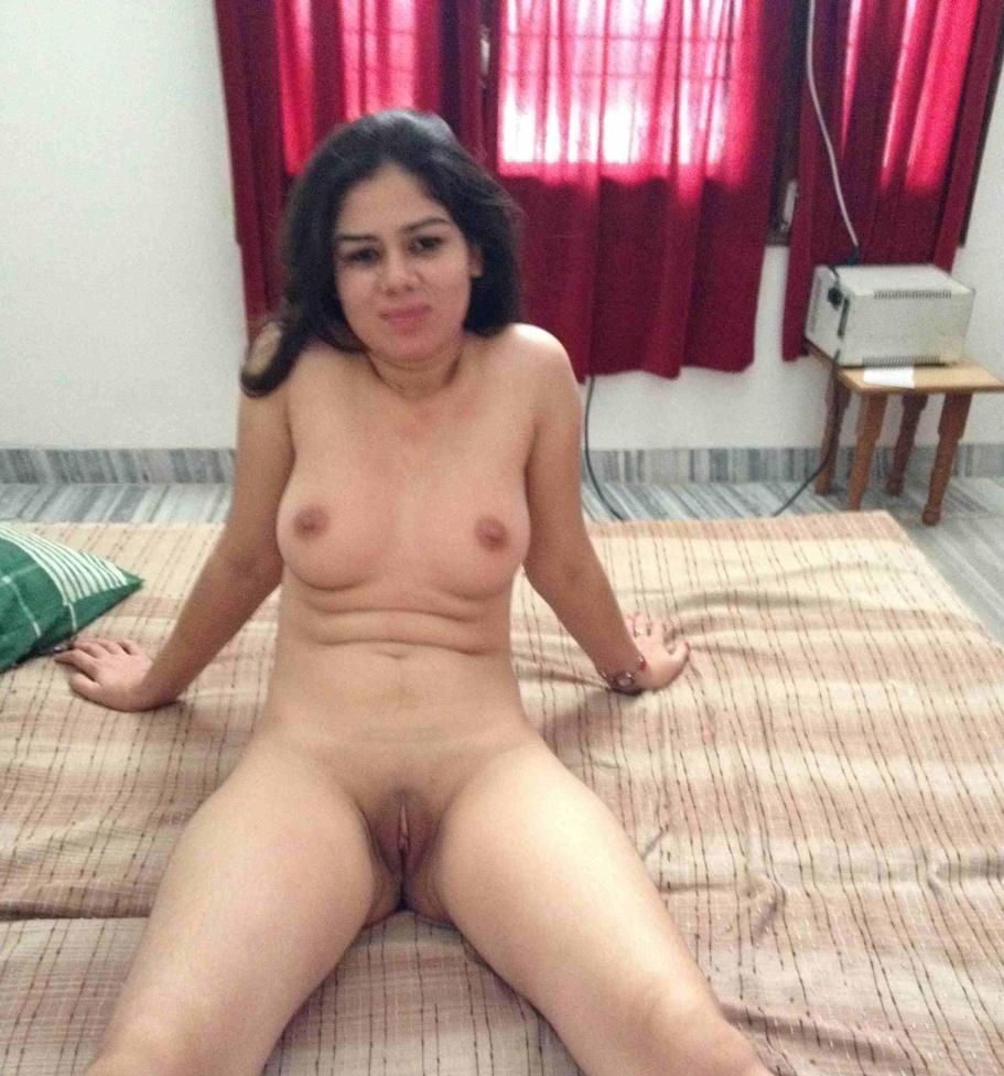 Curious young cute nude