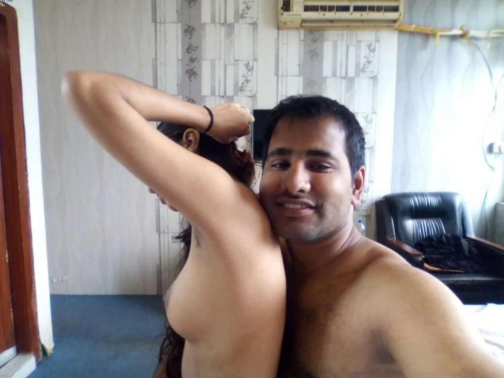 newly marrried couple nude