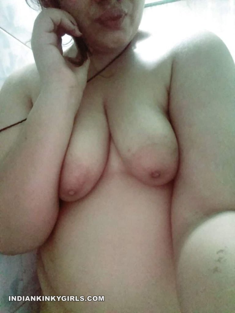 beautiful desi wife hina nude leaked selfies 004