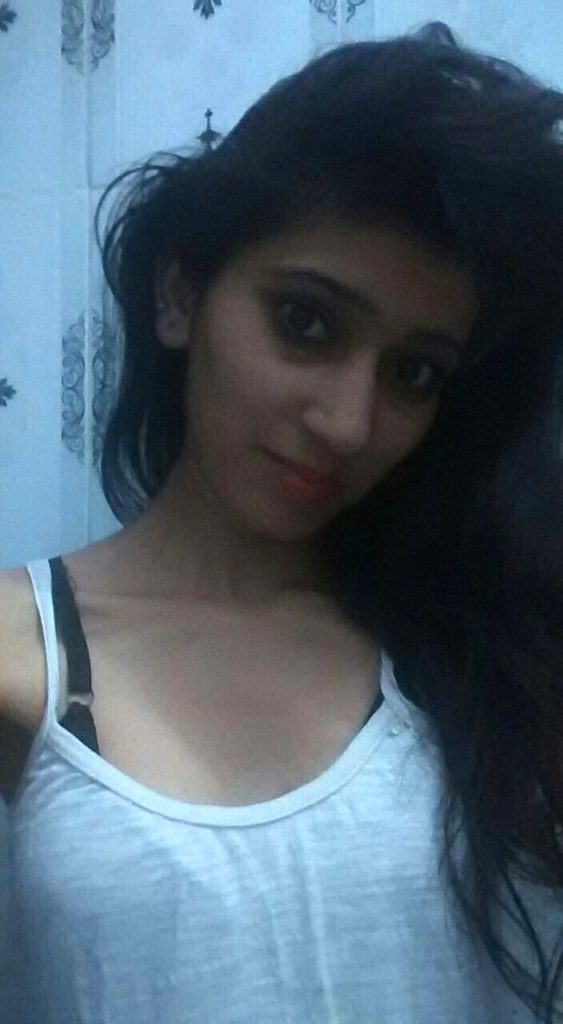 desi beautiful college girl boobs teasing selfies 002