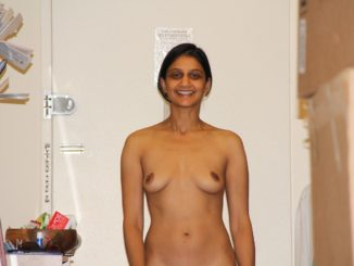 rich indian wife nude giving sexy poses for lover