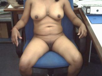 indian mature wife nude teasing her boss