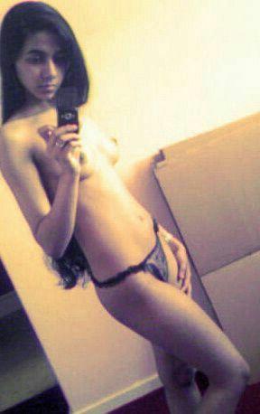 cute bengaluru teen naked selfies 003