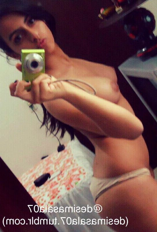 hot desi university girl selfies wearing only panties 002