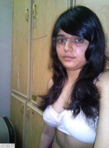 18yo desi teen with big boobs topless selfies 003