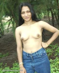 naughty indian wife naked outdoor cock teasing 004