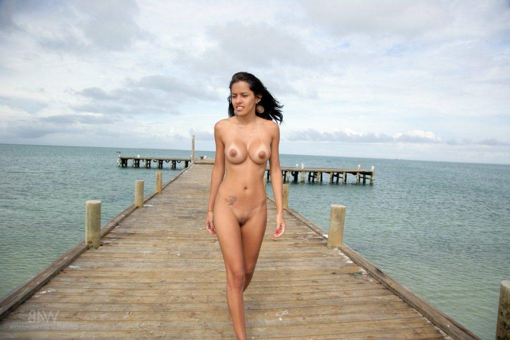 indian model nude outdoor photoshoot 007