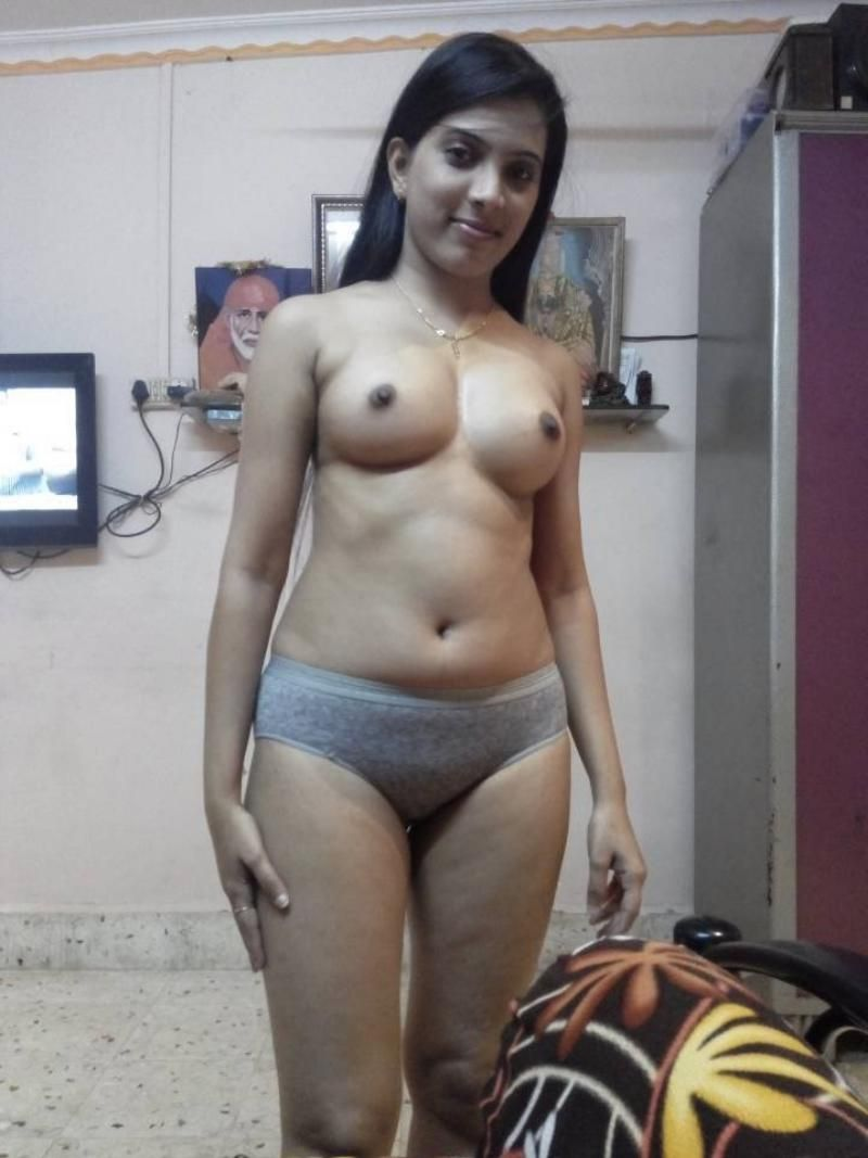 Beautiful Desi Wife Full Naked Showing Pussy  Indian Nude -2916