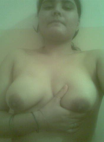 chubby housewife showing milky big boobs 006