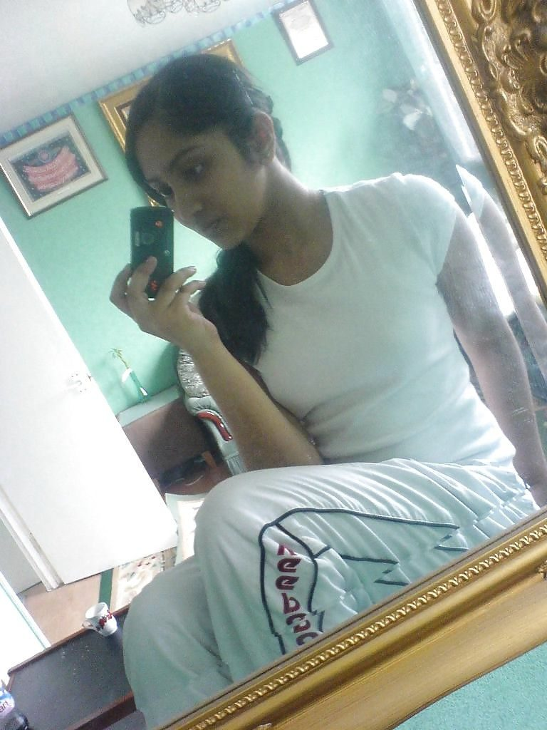 naughty muslim girl topless selfies in washroom 002