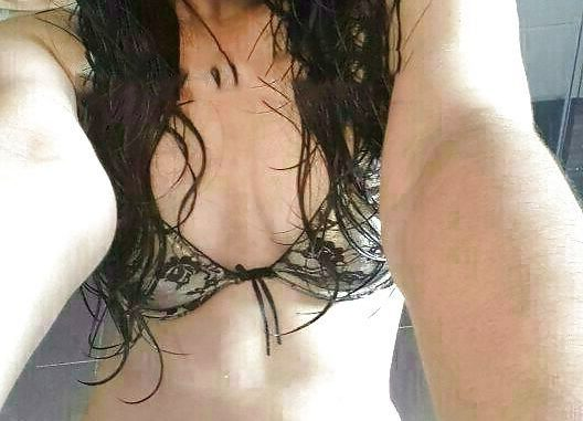 sexy richa topless selfies showing tight breasts 001