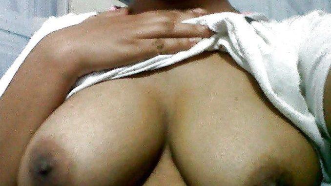 village college girl topless exposing big boobs 002