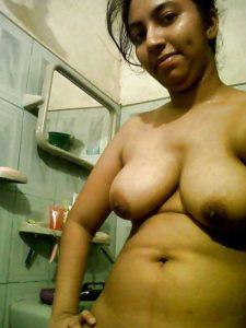 village college girl topless exposing big boobs 003