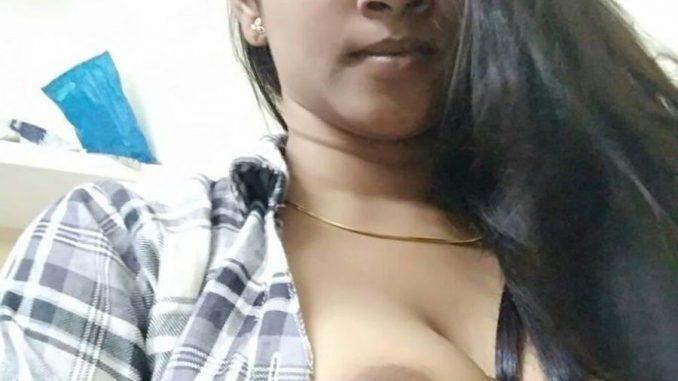 bengaluru bank employee nandini boobs show 002