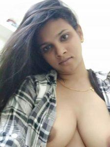 bengaluru bank employee nandini boobs show 003