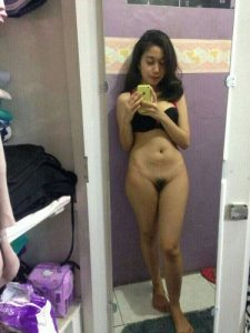 cute indian teen with bush pussy 004
