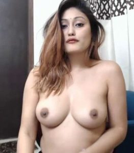 gorgeous desi camgirl topless showing lovely tits 002